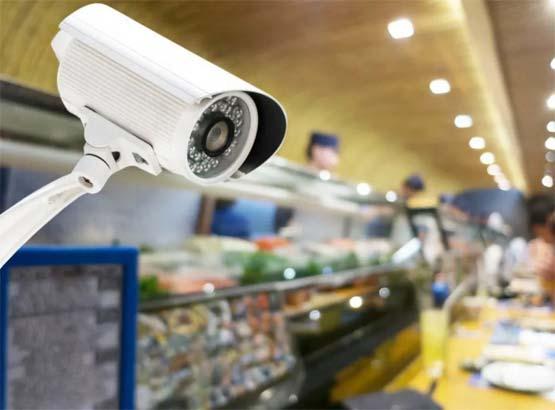 Установка камеры в магазине