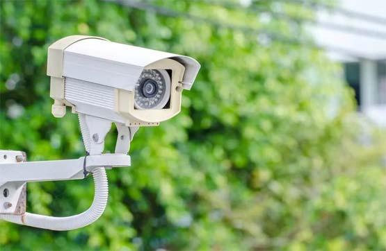 Установка камеры на улице